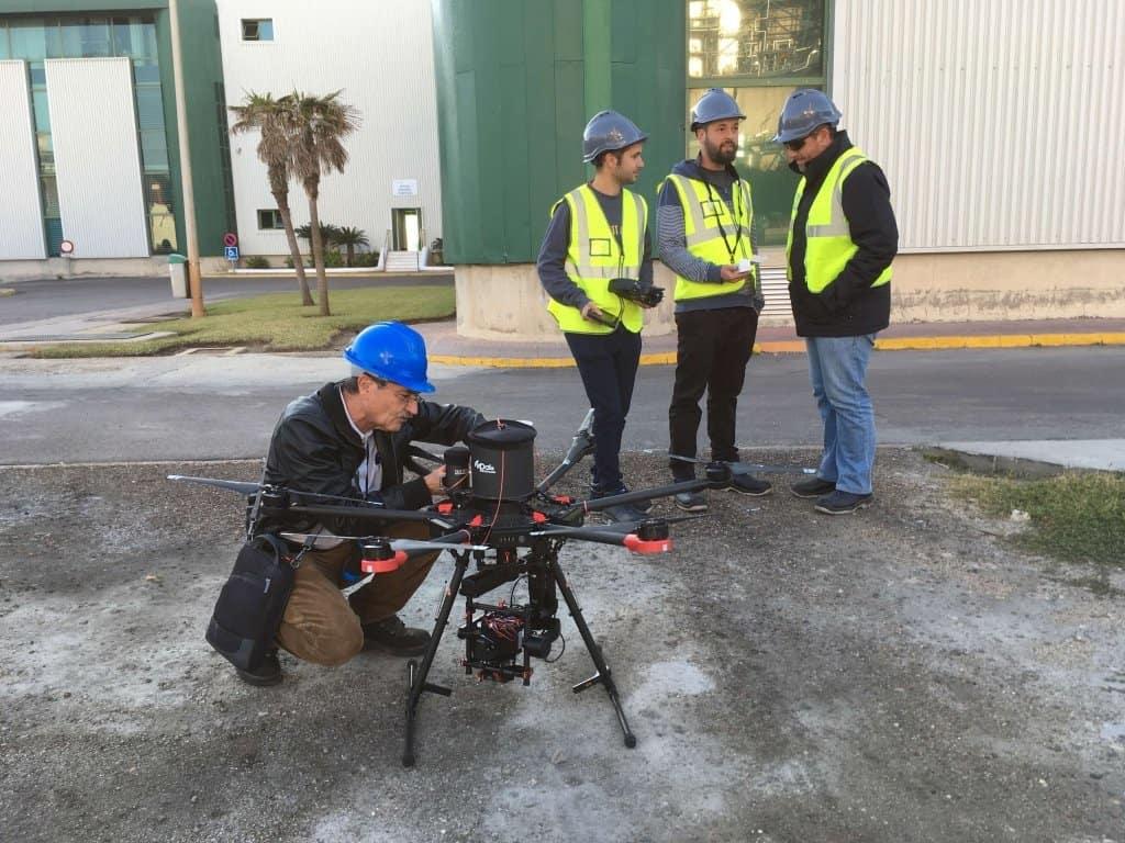 Especialización: Seguridad con drones